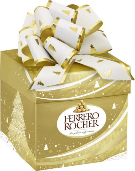 Schoko-Haselnuss Pralinen Geschenkbox