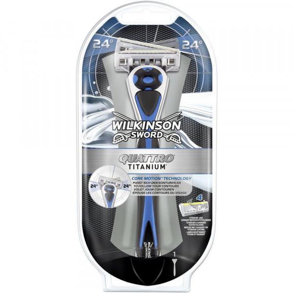 Rasierer Quattro Titanium Core Motion