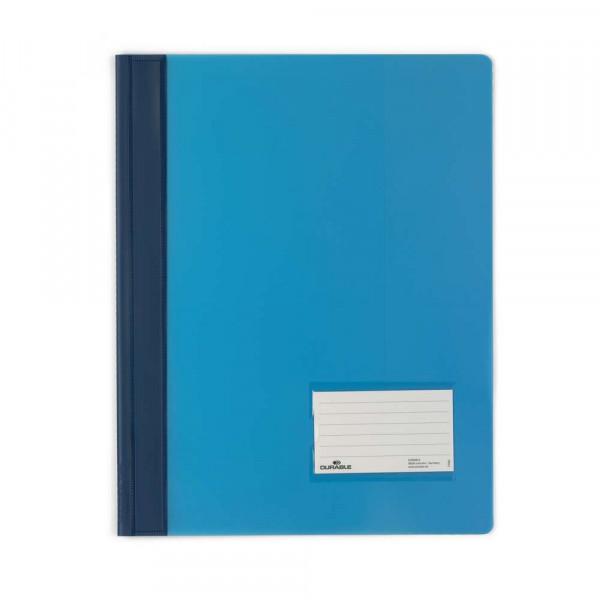 Schnellhefter, A4, Kunststoff, blau