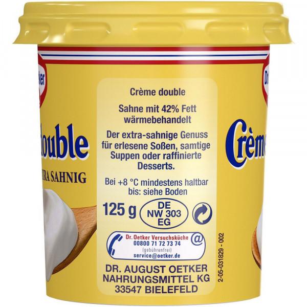 Creme Double 40% Fett