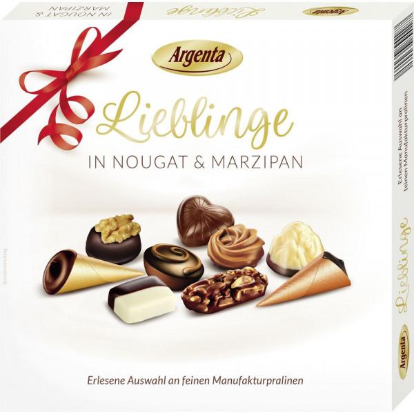 """Pralinen """"Lieblinge"""" in Nougat & Marzipan"""
