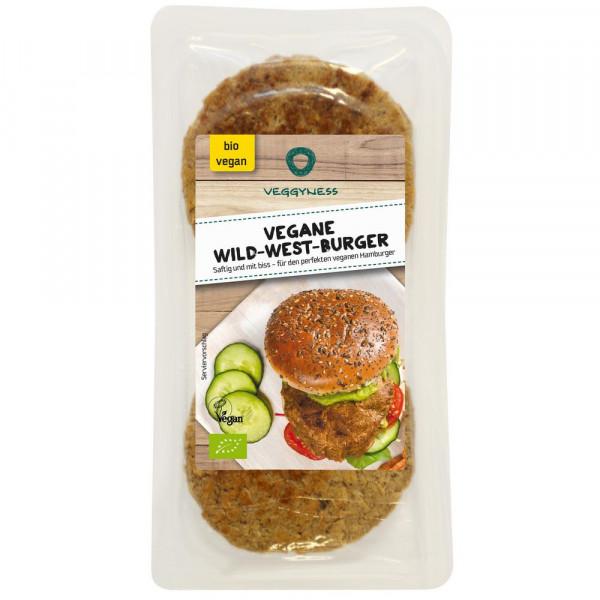 Vegane Wild-West-Burger 200g