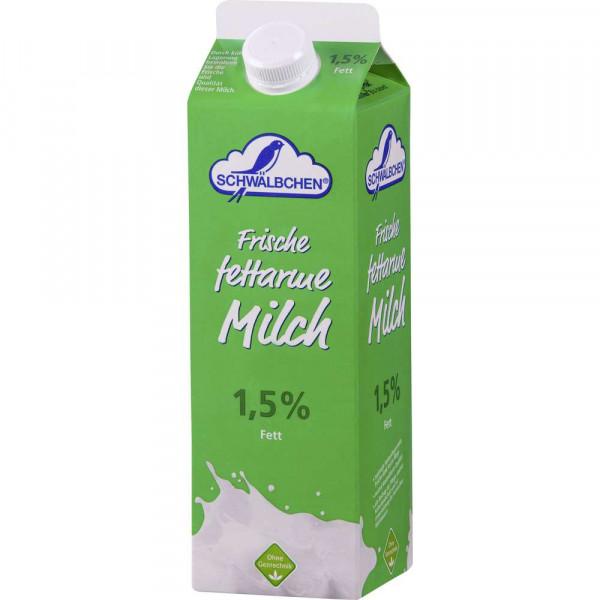 Fettarme Frischmilch, länger haltbar 1,5% Fett