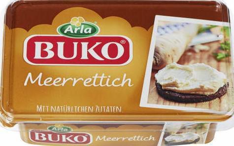 Buko Frischkäse, Meerrettich