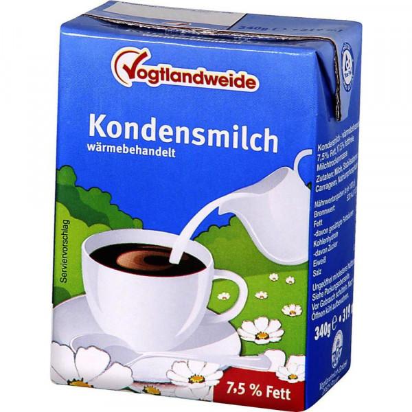 Kondensmilch 7,5% Fett