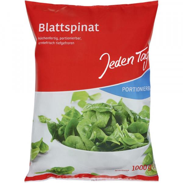 Blattspinat, portionierbar