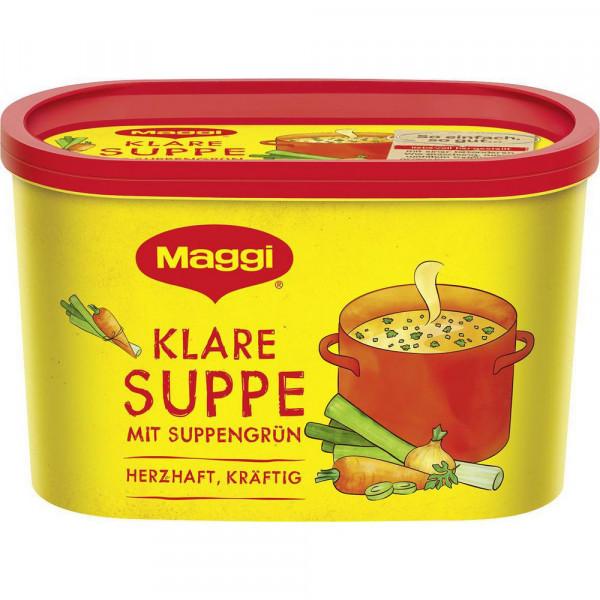 Klare Suppe mit Suppengrün