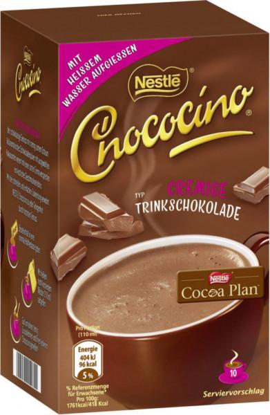 Chococino, cremige Trinkschokolade