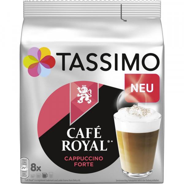 "Kaffee Kapseln ""Cafe Royal"" Cappuccino Forte"