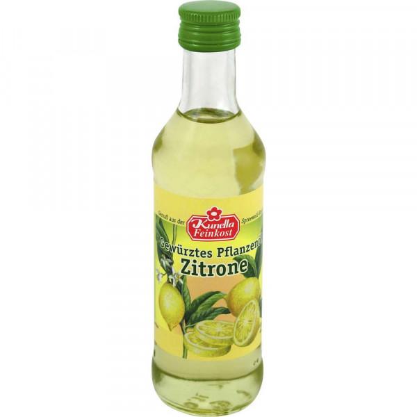 Gewürztes Pflanzenöl, Zitrone