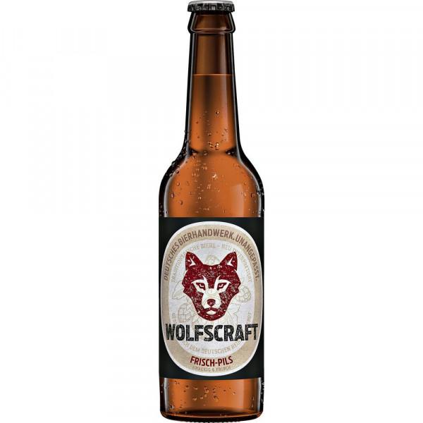 """Pilsener Bier Bio """"Frisch Pils"""" 5,2%(3 x 0.33 Liter)"""