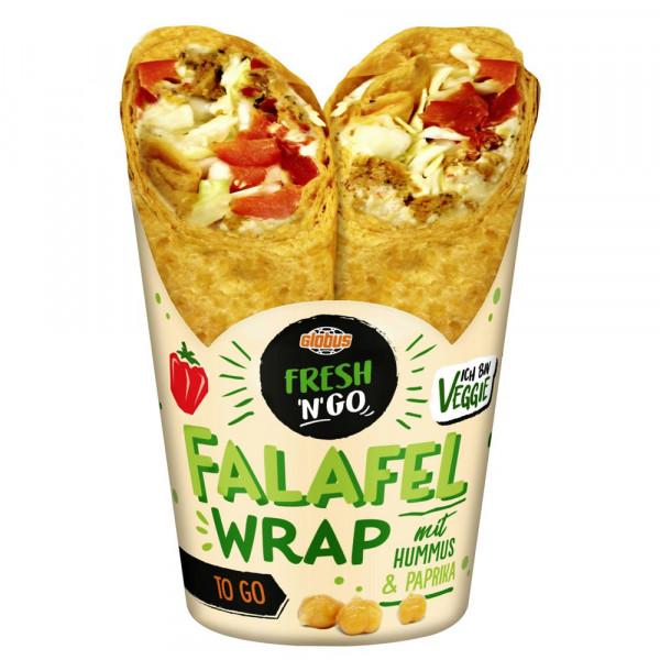 Wrap, Falafel Hummus