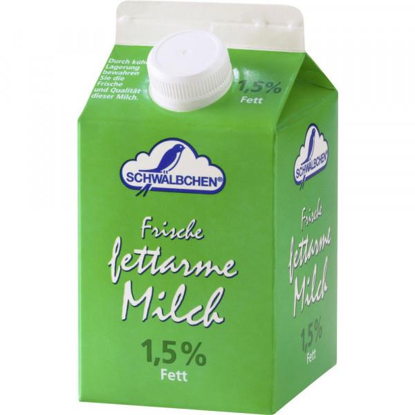 Frische fettarme Milch, länger haltbar 1,5% Fett