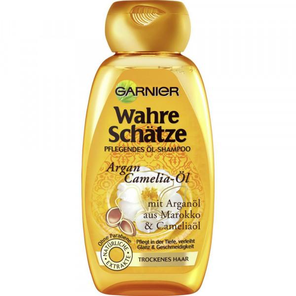 Shampoo Wahre Schätze, Argan-Cameli