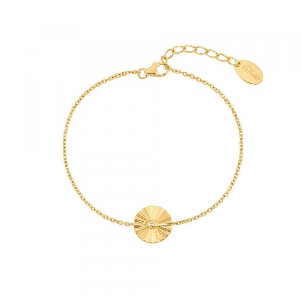 Damen Armband aus Silber 925 mit Zirkonia, vergoldet (4056867028066)