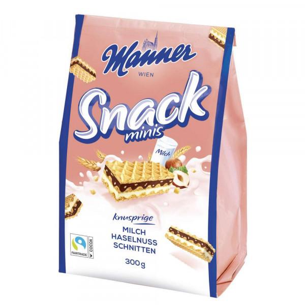 "Waffeln ""Snack minis"", Milch-Haselnuss"