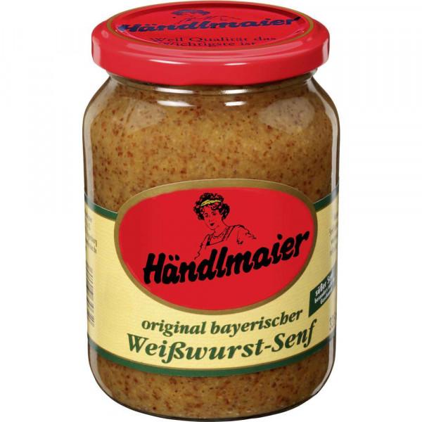 Original bayerischer Weißwurstsenf