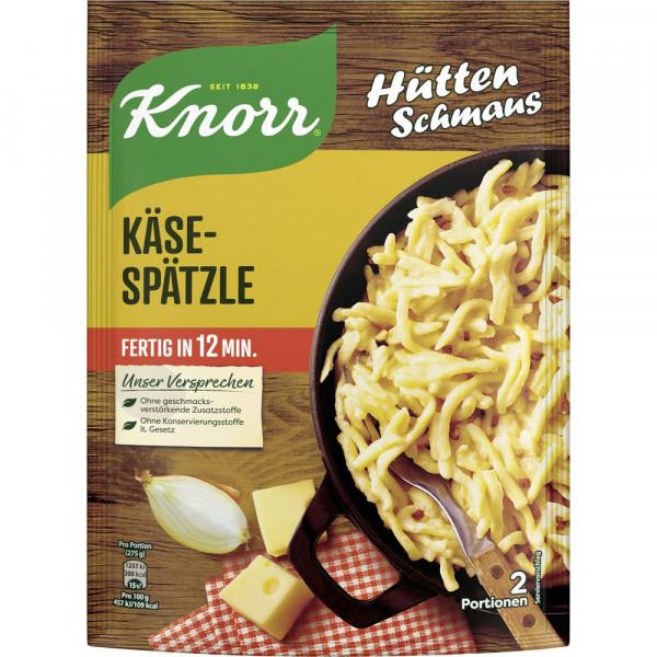 Hüttenschmaus, Schwäbische Käse-Spätzle
