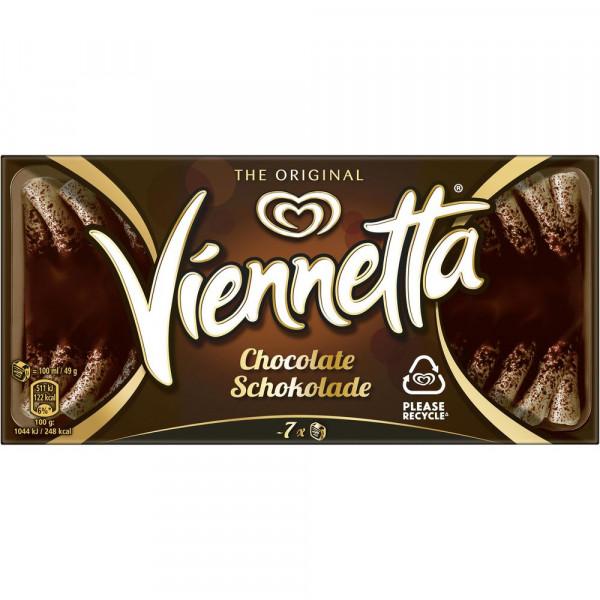 Viennetta Eis, Schokolade