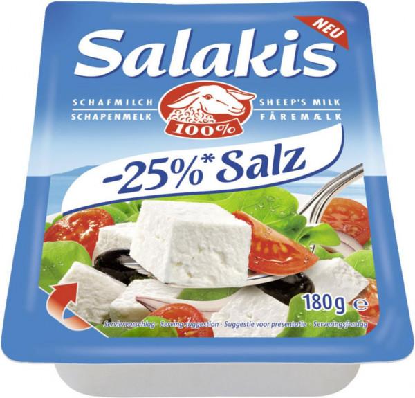 Schafskäse, -25% Salz