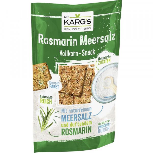 Vollkorn Knäcke-Snack, Rosmarin Meersalz
