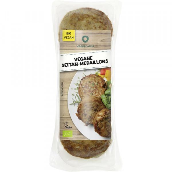 Vegane Seitan-Medaillons 175g