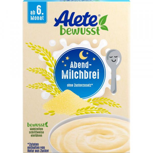 Babynahrung Abend-Milchbrei, Grieß