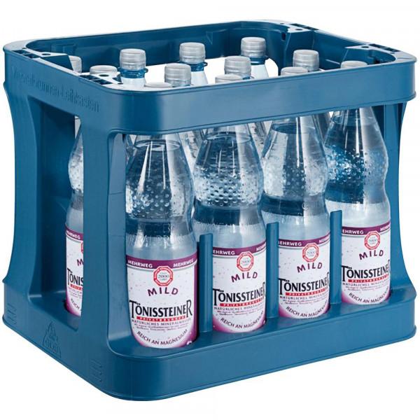 Mineralwasser, Mild (12 x 1 Liter)