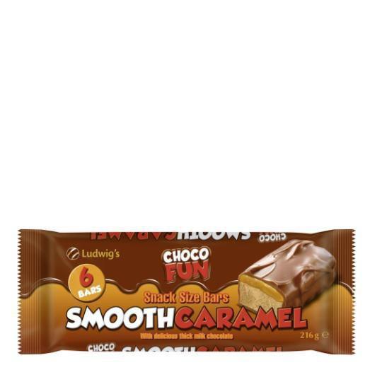 "Schoko Riegel ""Smooth Caramel Bars"""