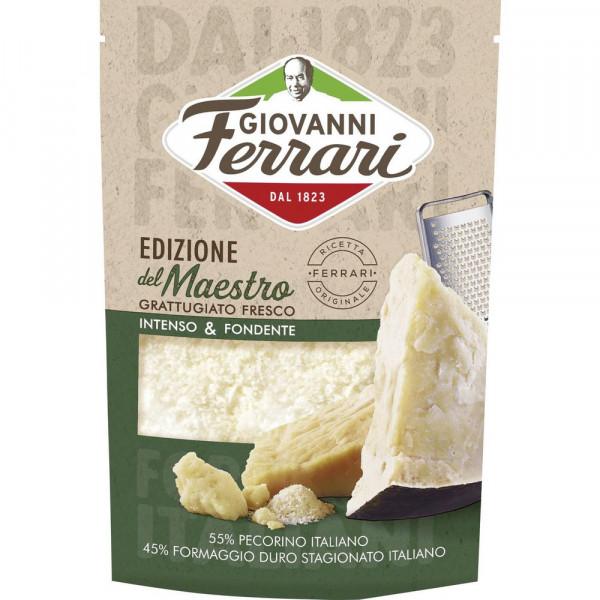 Italienischer Hartkäse, frisch gerieben