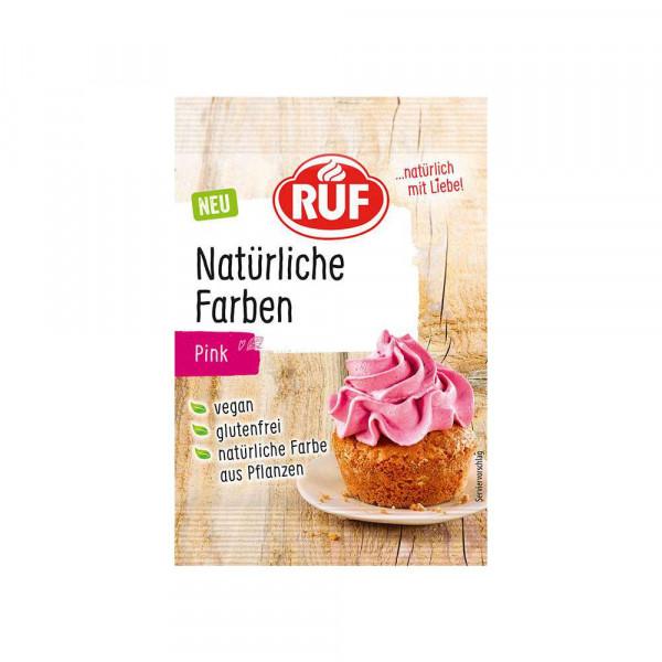 Natürliche Lebensmittelfarbe, pink