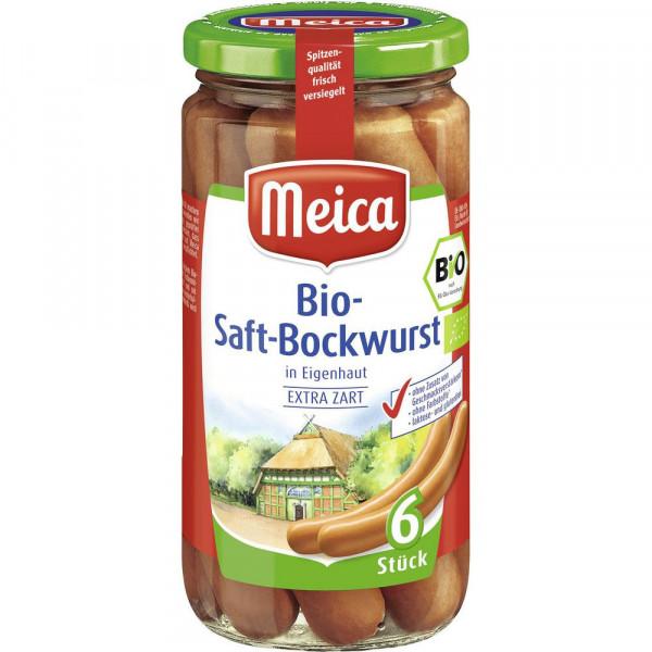 6 Bio Saft-Bockwurst