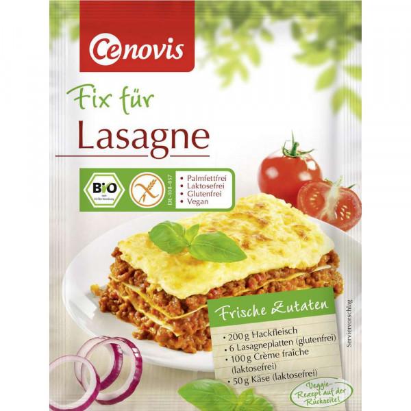 Bio Fix für Lasagne