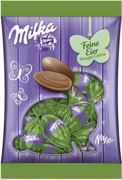 Schokoladen-Eier, Nougat