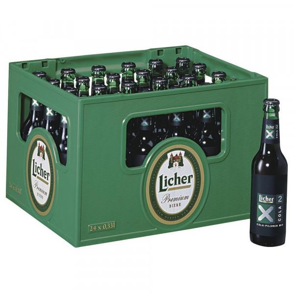 X2 Biermischgetränk, Cola-Pilsener Mix 2,2% (24 x 0.33 Liter)