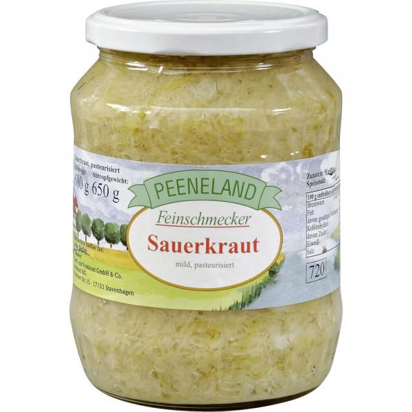 Sauerkraut, mild