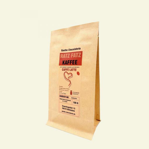 Kaffee Latte Ratz Fatz