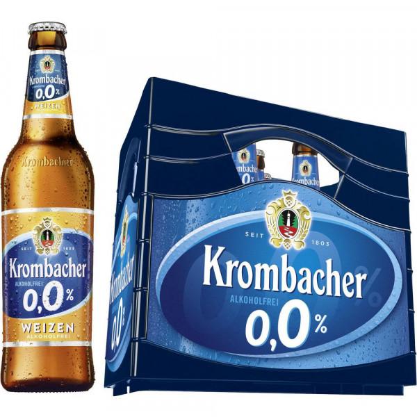 Weizen Bier 0,0%, alkoholfrei(11 x 0.5 Liter)