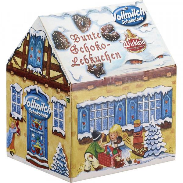 """Bunte Schokoladen-Lebkuchen """"Winterhäuschen"""""""