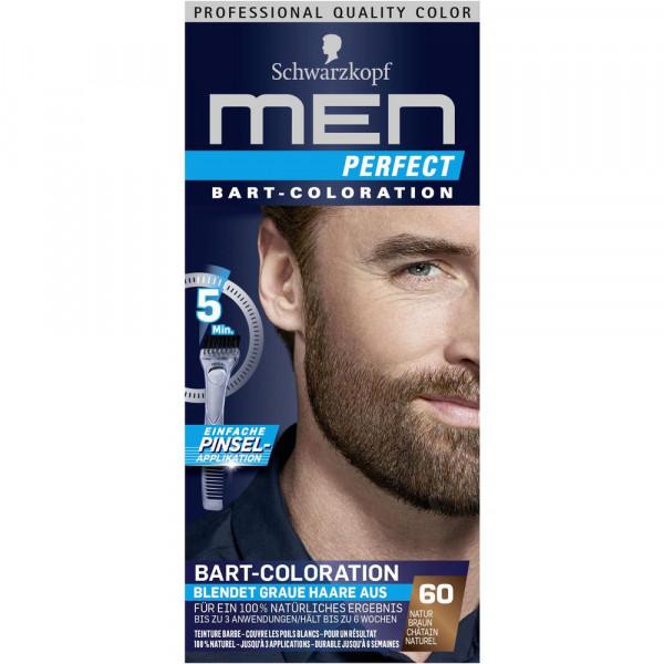 "Bart-Coloration ""Men Perfect"", 60 Natur Braun"