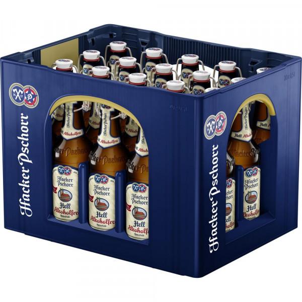"Helles Bier ""Münchner Alkoholfreies"", naturtrüb (20 x 0.5 Liter)"