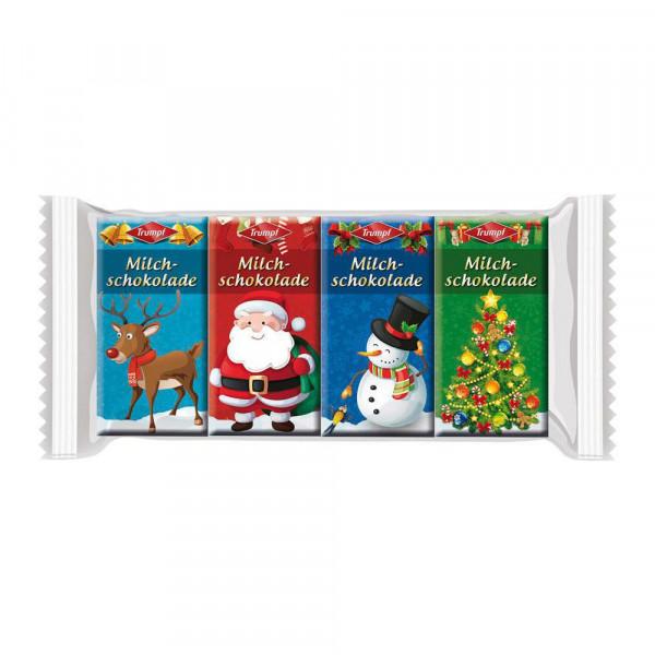 Schokolade Weihnachtstäfelchen