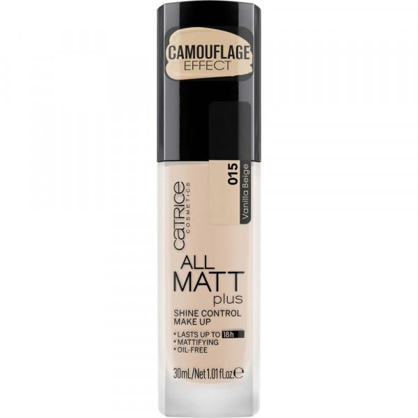 All Matt Plus Shine Control Make-Up, Vanilla Beige 015