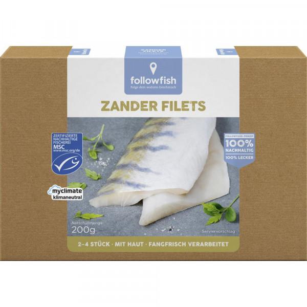 Zander Filets