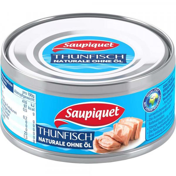 Thunfisch-Stücke, Naturale ohne Öl