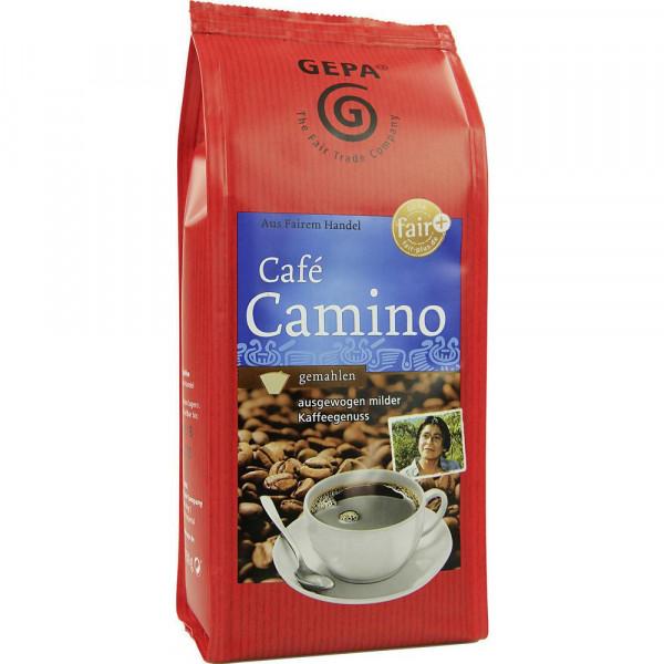 Kaffee Camino, gemahlen
