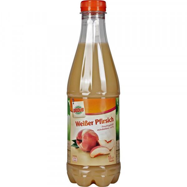 Weißer Pfirsich Nektar