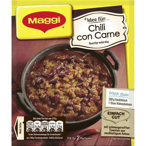 Maggi Fix, Chili Con Carne