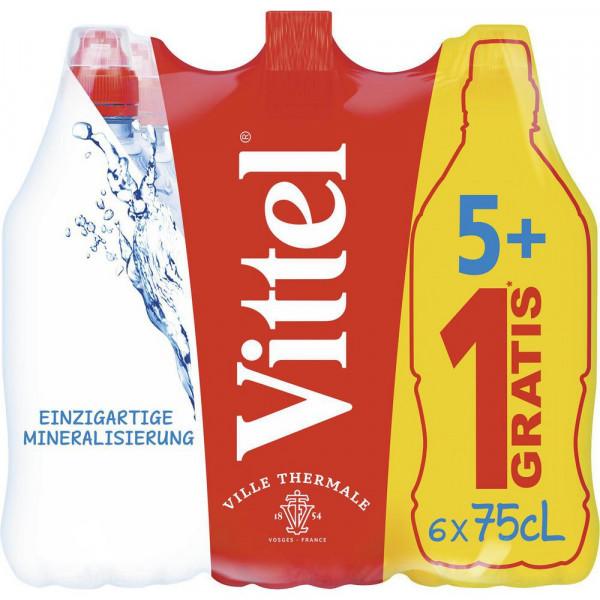 Mineralwasser, Naturelle (6 x 4.5 Liter)