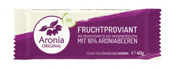 Biol Fruchtriegel mit Aroniabeeren